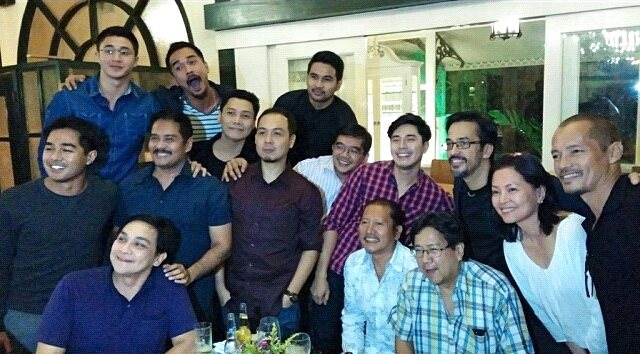 the all-male cast plus one woman cast of heneral luna