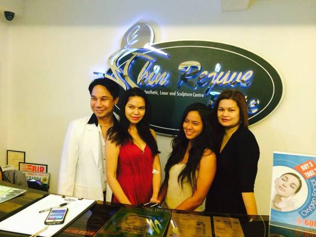 clinical staff of skin rejuve with maria isabel lopez and daughter mara lopez