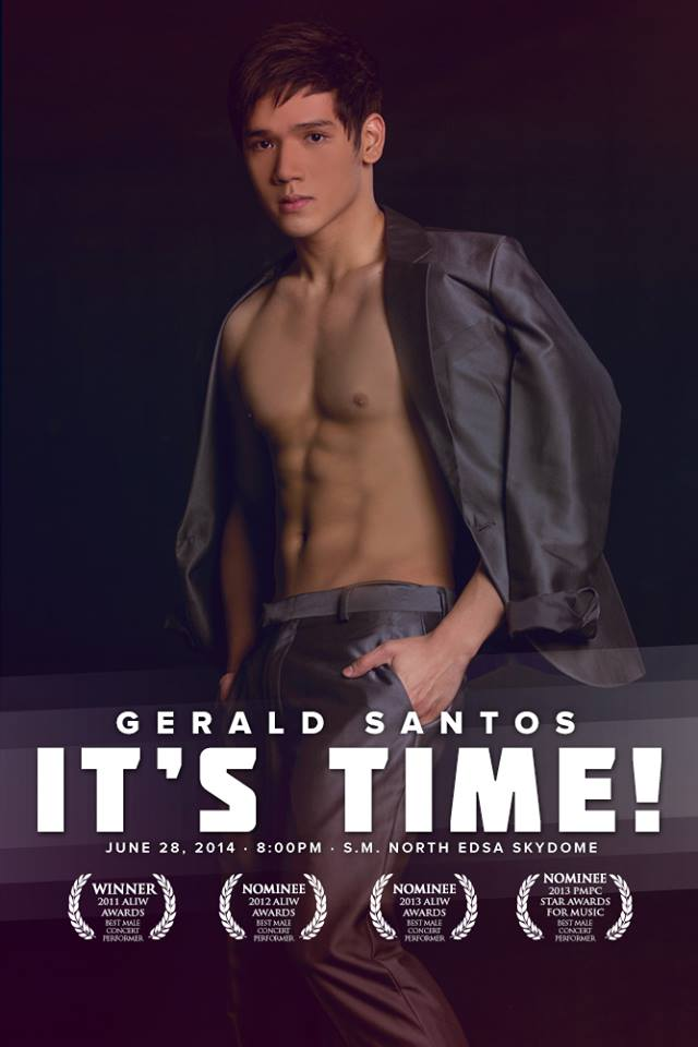 gerald is willing to show-off for solenn