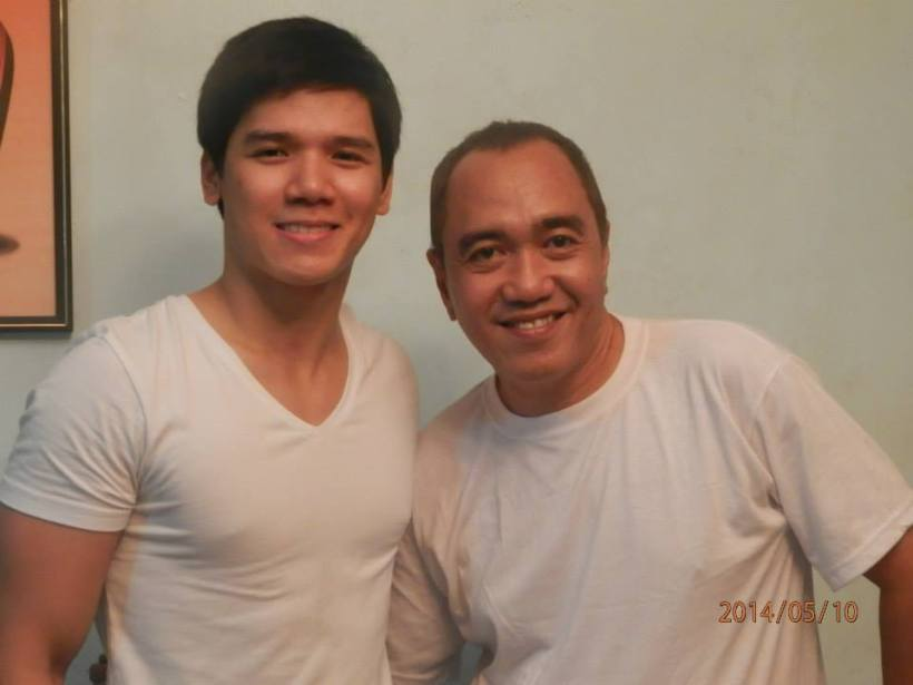 GERALD WITH BLOGGER ROBERT SILVERIO