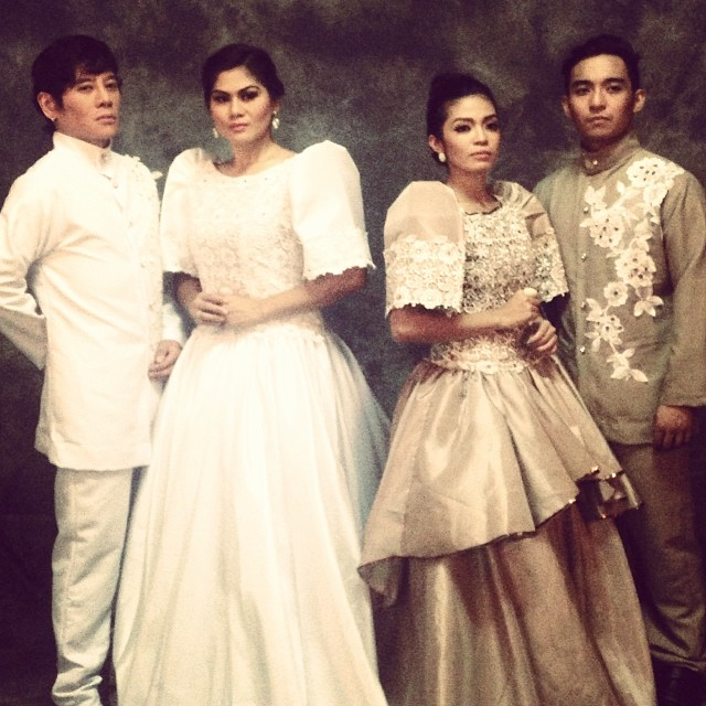 "THE MAIN CAST OF ""FILIPINAS: 1941"""