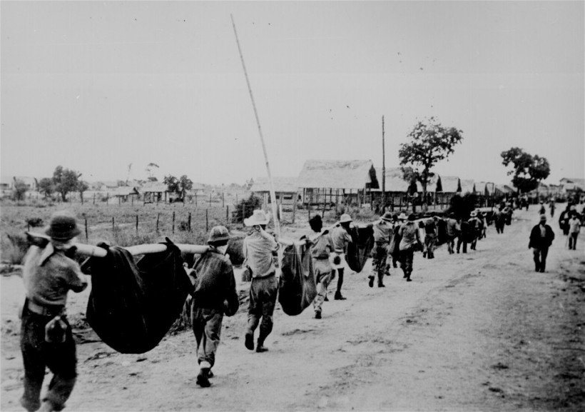 the bataan death march in 1941