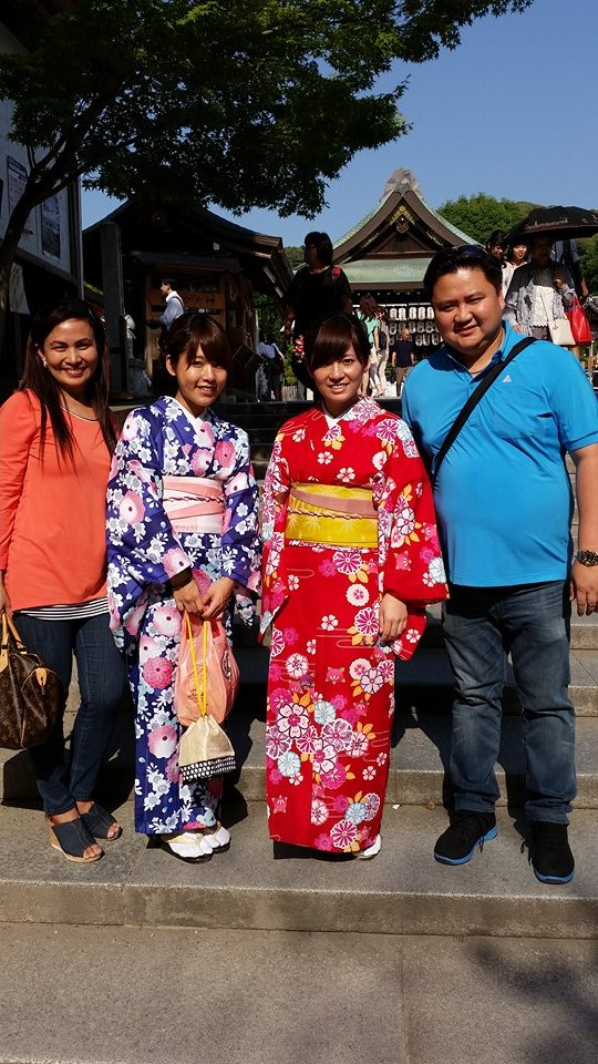 prescy with husband ronald: currently in Japan for business matters