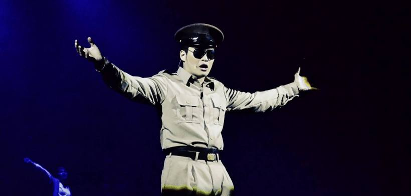 chris lim as gen. douglas macarthur: commanding performance