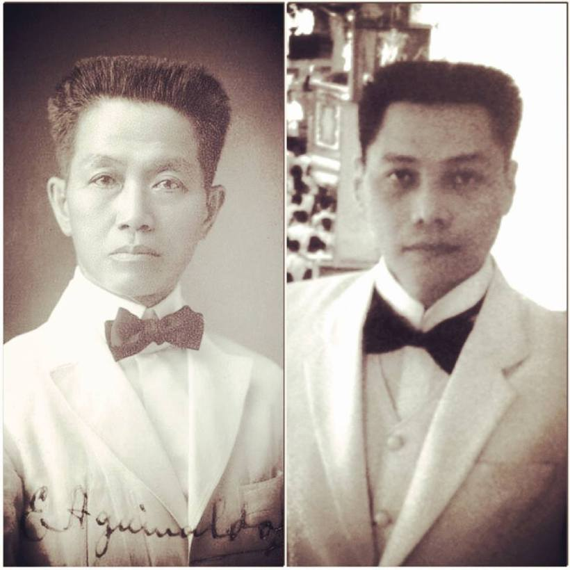 the real emilio aguinaldo and mon confiado as aguinaldo