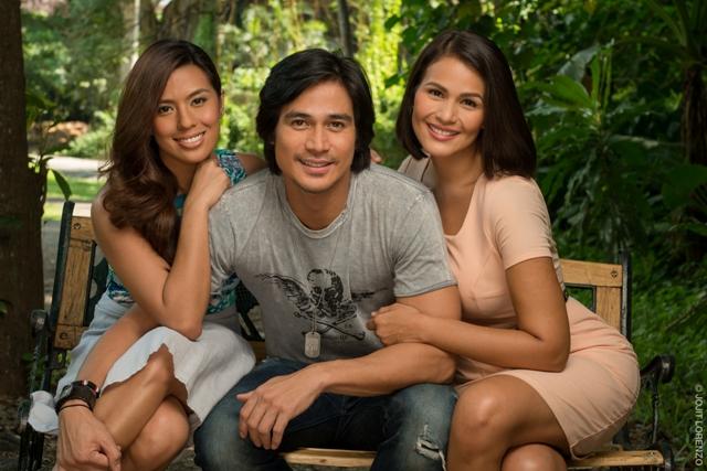 Nikki Gil, Piolo Pascual, and Iza Calzado