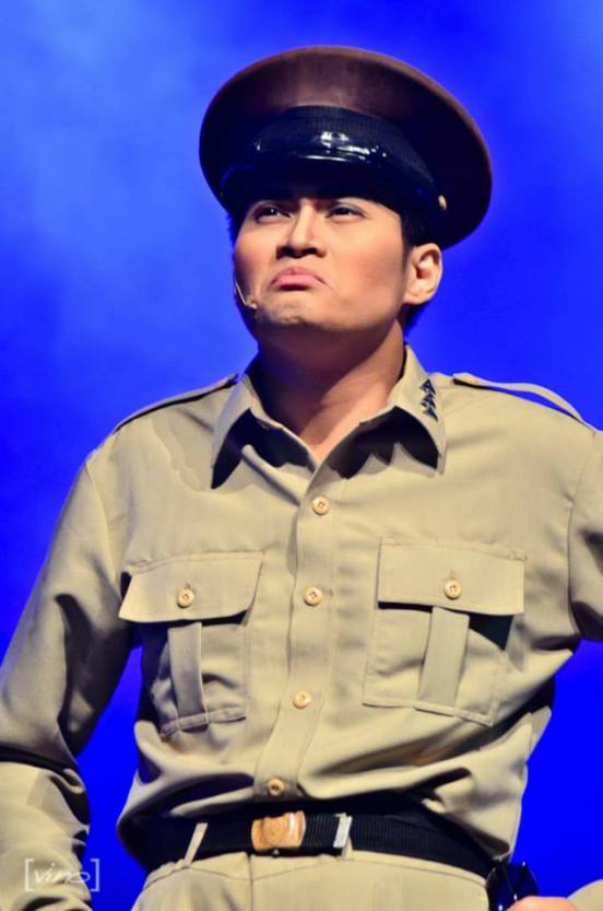 chris lim as gen. macarthur