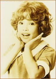"young lea salonga (picture when she portrayed ""annie"", not connected with the song ""rainbow connection"""
