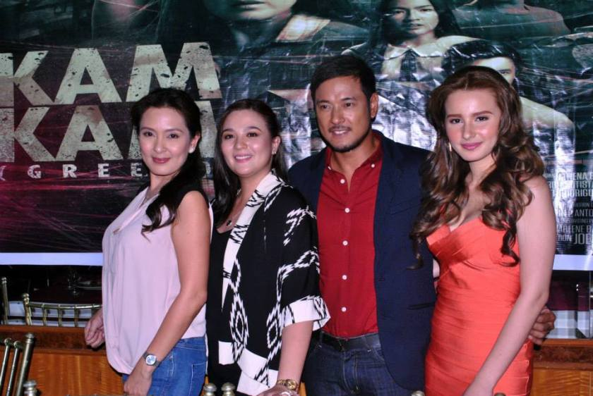 """Main cast of KAMKAM headed by Ms. Jean garcia,Sunshine Dizon, Allen Dizon and Jackie Rice. Soon to have international premiere at Montreal World Film Festival /Festival des Films du Monde de Montreal - FFM and competing also at Harlem International Film Festival. Written by Jerry Gracio. Directed by Joel Lamangan.Produced by Heaven's Best Entertainment.Grade """"A"""" by the Cinema Evaluation Board. Mabuhay!!!"""