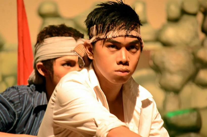 a young actor in the play named arnold