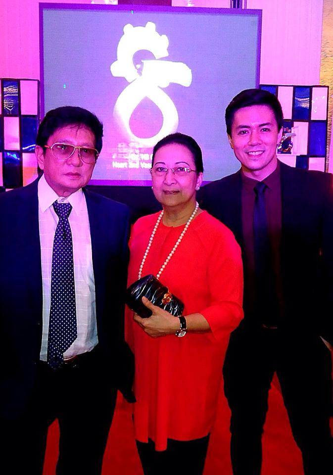lance with his proud parents
