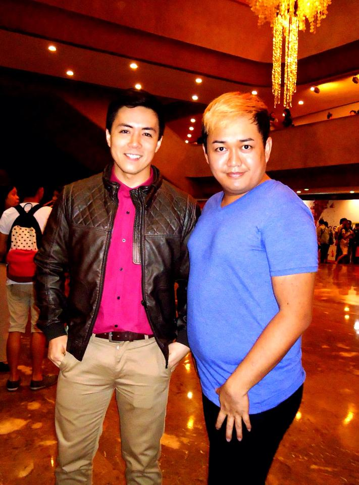 lance with his manager, shandii bacolod