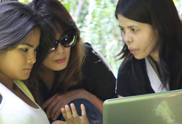 """np directs angel aquino and althea vega in """"astray"""""""