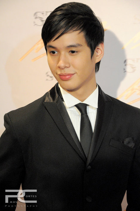 AJ PEREZ AT THE STAR MAGIC BALL BEFORE HE DIED