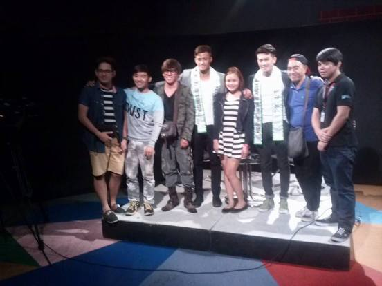 the guests and staff of personage tv show in their recent episode taping