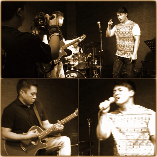 lance jamming with kuya rannie