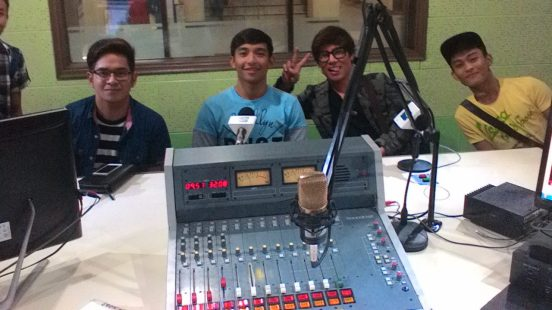 (from left to right): thomas edison, jv cruz, patrick libao, vince tanada and johnrey rivas