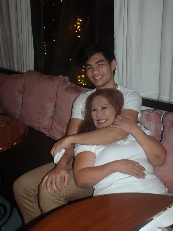 TIA PUSIT WITH ELITES MODEL PAUL AQUINO