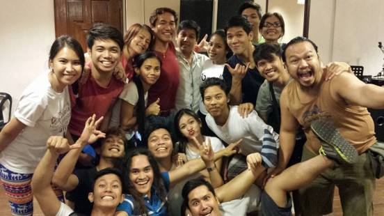 the great theater actors supporting Gerald in this new musical version of a play in the life of St. Pedro Calungsod.