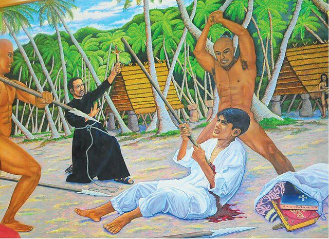 the death of san pedro calungsod