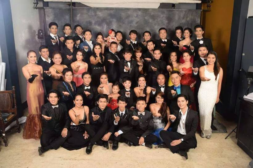 the whole ensemble cast of the PHILIPPINE STAGERS FOUNDATION. (photo by: roper's studio)