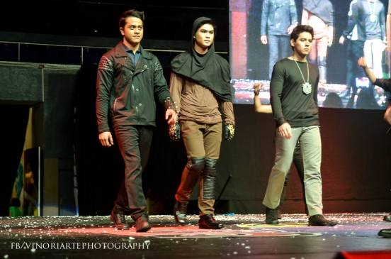 the mini-fashion show number of the elites models