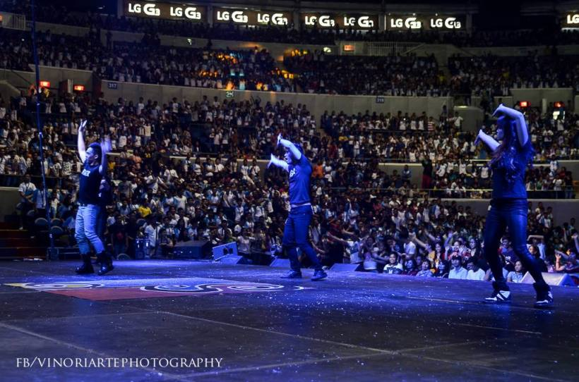 araneta coliseum was filled-up!