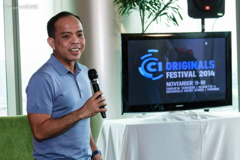 MR. RONALD ARGUELLES, THE MAN BEHIND CINEMA ONE ORIGINALS