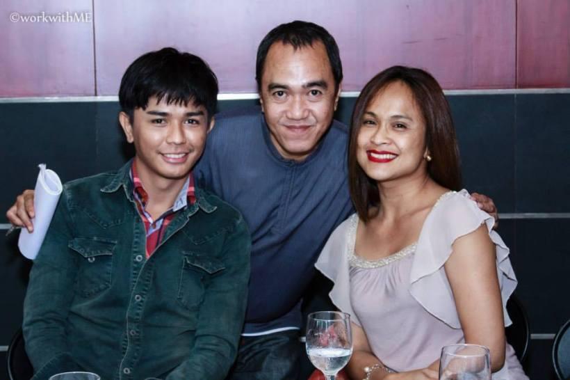 blogger sssip with director nash ang and ms. mimi juareza