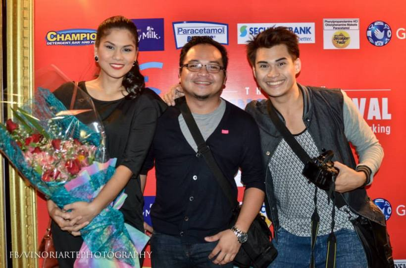 mr. vino oriarte with adelle lim and chris lim