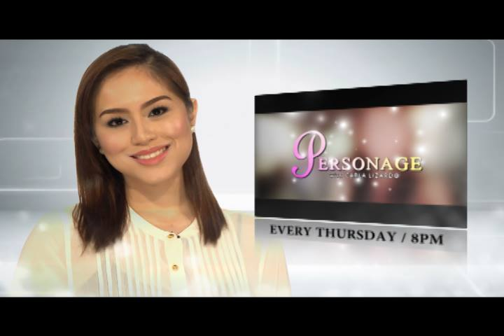 """personage"", a tv talk show on ptv-4 hosted by ms. carla lizardo"