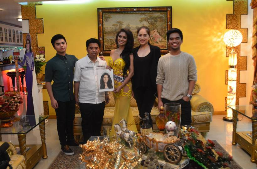 "mrs. world guests at ""personage"""
