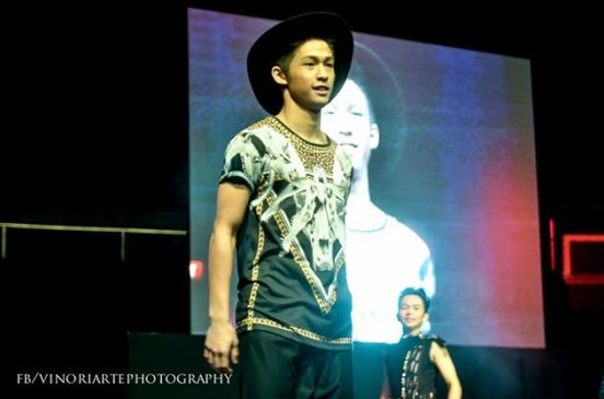 ELITES MODEL-NIKKI CO WHILE DOING RAMP MODELLING AT THE STAGERS CONCERT