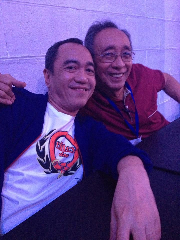 mr. bob nazareno, manager of freshmen, with blogger sssip
