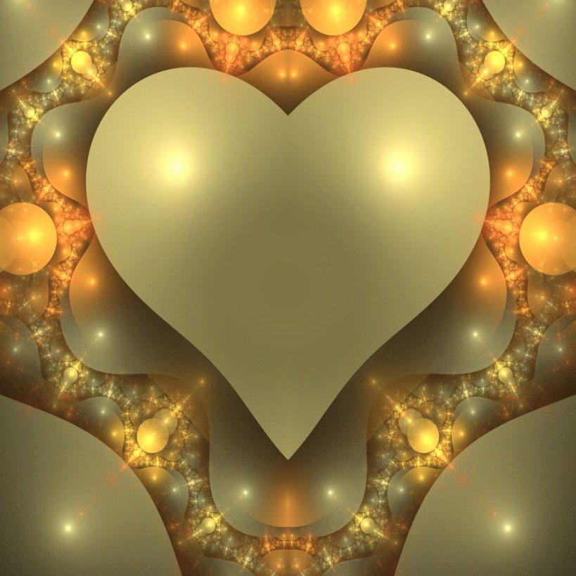 gold heart2
