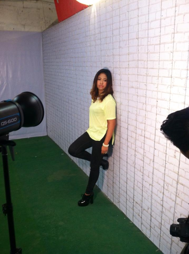 ms. marie florence aquino poses for the camera