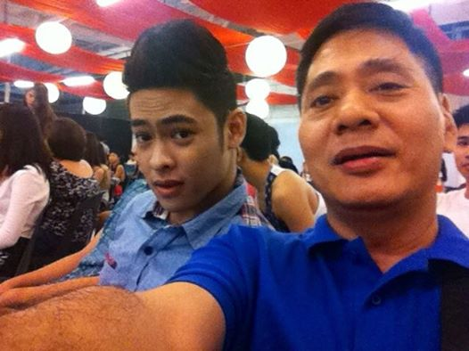 jao with mr. martin martin, his manager