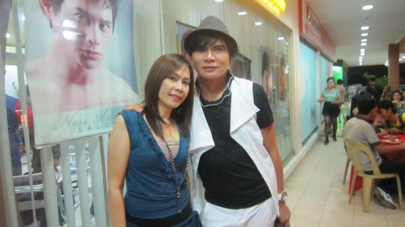mama ness with his longtime employee arlene sunio