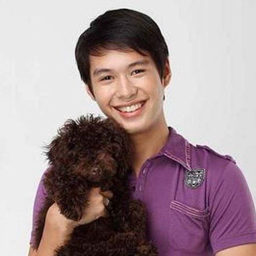 aj and dog