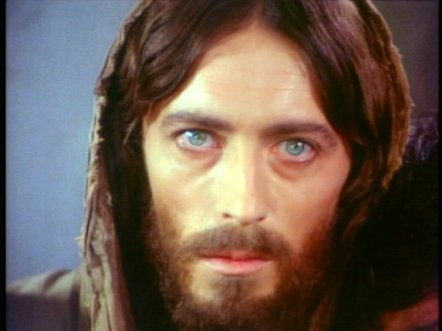 "AMERICAN ACTOR ROBERT POWELL: THE CLOSEST ONE IN BEING JESUS CHRIST (from the film ""jesus oof nazareth"")"