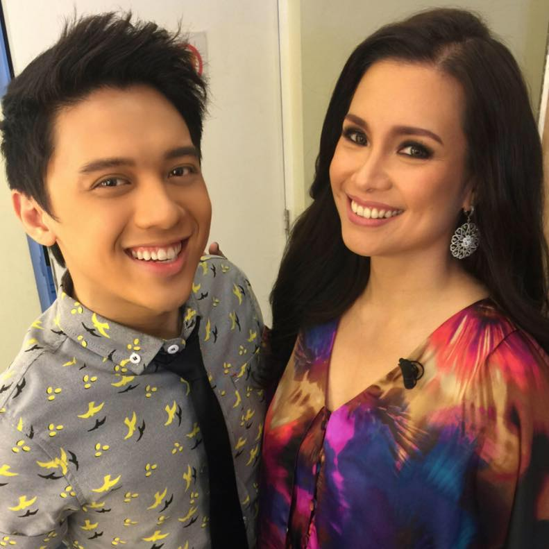 timmy with ms. lea salnga