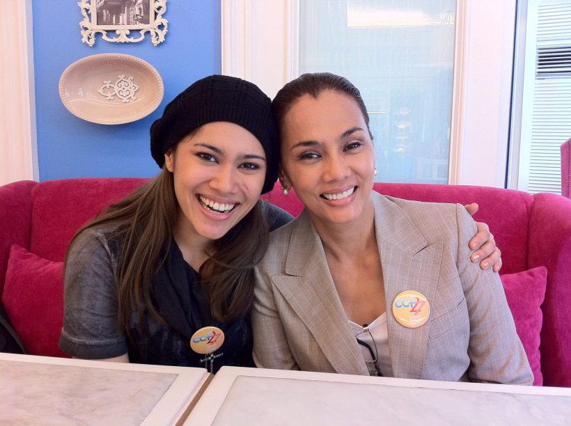 ISABELLA WITH HER MOST LOVING MOM- MS. KUH LEDESMA