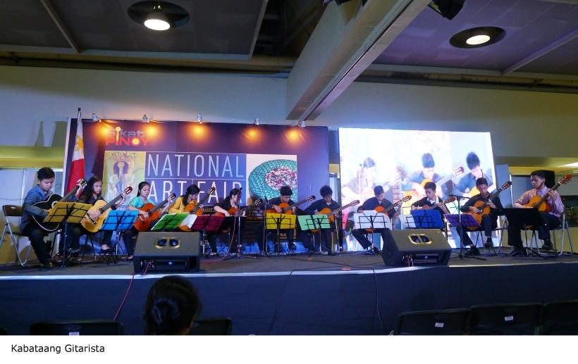Kabataang Gitarista_Performance at the National Art Fair_Sept. 27, 2014