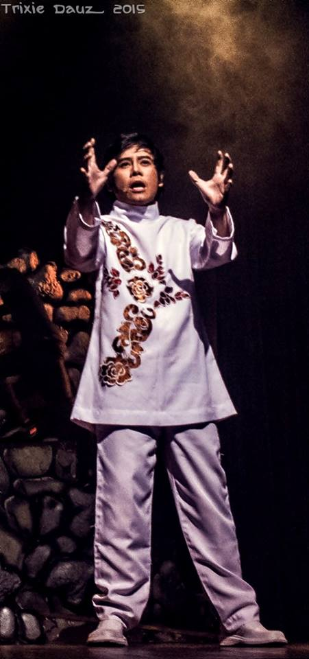 vince tanada: brings back the spirit of being a TRUE FILIPINO via his plays. (photo: trixie dauz)