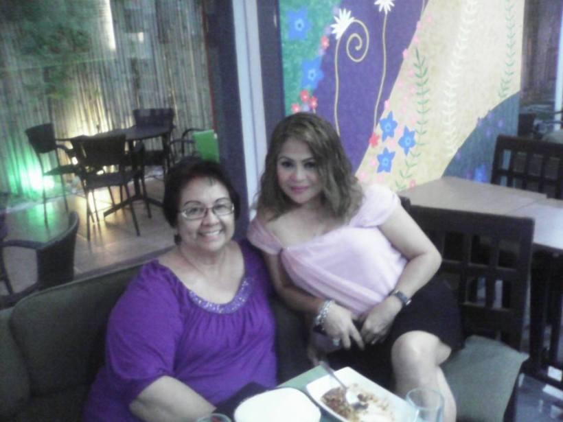 cynthia with her mentor, ms. tessie lagman-balboa