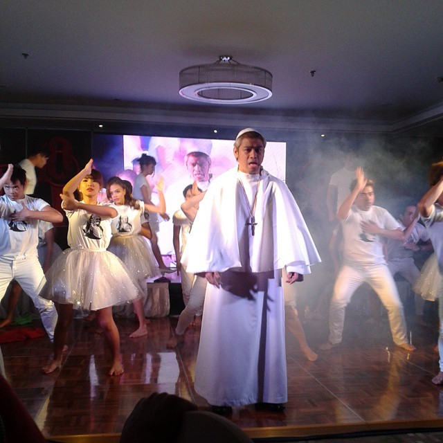 "A TEASER OF PSF's NEW MUSICAL PLAY- ""POPE-PULAR"""