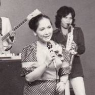 "tessie lagman during her ""operetang putol-putol"" days"