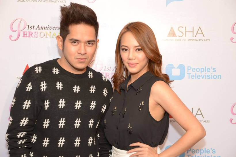 psf theater actor jv cruz with hessa gonzales