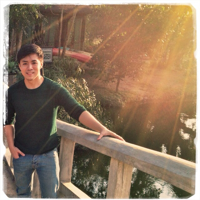 lance in baguio city: something private together with his family and a RESPITE