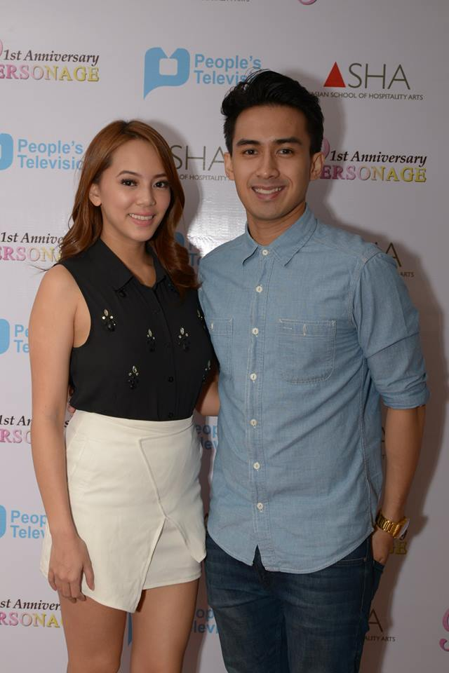 "ms. hessa gonzales and joung JV of ""iskoolmates"""